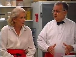 Madge Bishop, Harold Bishop in Neighbours Episode 3133