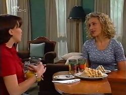 Libby Kennedy, Shelley Harris in Neighbours Episode 3133
