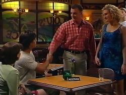 Libby Kennedy, Drew Kirk, Ray Hanson, Shelley Harris in Neighbours Episode 3133