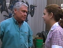 Lou Carpenter, Hannah Martin in Neighbours Episode 3134