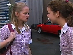 Denny Cook, Hannah Martin in Neighbours Episode 3134