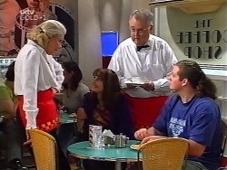 Madge Bishop, Karen Oldman, Harold Bishop, Toadie Rebecchi in Neighbours Episode 3134