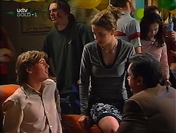 Mark Sindon, Hannah Martin, Karl Kennedy in Neighbours Episode 3134