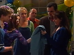 Billy Kennedy, Anne Wilkinson, Ruth Wilkinson, Philip Martin, Karl Kennedy, Susan Kennedy in Neighbours Episode 3134
