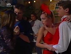 Anne Wilkinson, Billy Kennedy, Joel Samuels, Amy Greenwood, Lance Wilkinson in Neighbours Episode 3135