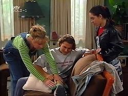 Ruth Wilkinson, Joel Samuels, Zoe Tan in Neighbours Episode 3135