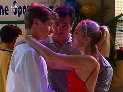 Lance Wilkinson, Karl Kennedy, Amy Greenwood in Neighbours Episode 3135