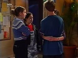 Hannah Martin, Zoe Tan, Billy Kennedy, Anne Wilkinson in Neighbours Episode 3135