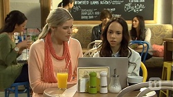 Amber Turner, Imogen Willis in Neighbours Episode 6681