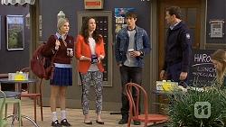 Amber Turner, Kate Ramsay, Mason Turner, Matt Turner in Neighbours Episode 6688