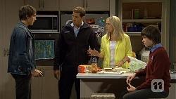 Mason Turner, Matt Turner, Lauren Turner, Bailey Turner in Neighbours Episode 6688