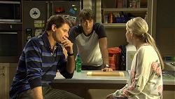 Matt Turner, Mason Turner, Amber Turner in Neighbours Episode 6689