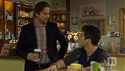 Brad Willis, Chris Pappas in Neighbours Episode 6693