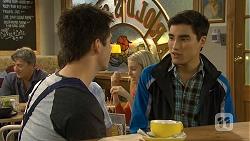 Chris Pappas, Hudson Walsh in Neighbours Episode 6693