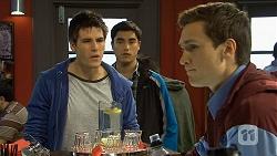 Chris Pappas, Hudson Walsh, Josh Willis in Neighbours Episode 6693