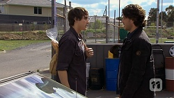Mason Turner, Robbo Slade in Neighbours Episode 6693