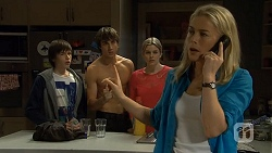 Bailey Turner, Mason Turner, Amber Turner, Lauren Turner in Neighbours Episode 6694