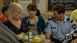 Sheila Canning, Vanessa Villante, Matt Turner in Neighbours Episode 6695