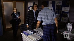 Snr. Const. Kelly Merolli, Robbo Slade, Matt Turner in Neighbours Episode 6695