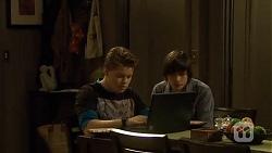 Callum Jones, Bailey Turner in Neighbours Episode 6695