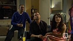 Karl Kennedy, Lucas Fitzgerald, Vanessa Villante in Neighbours Episode 6695