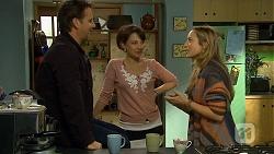 Lucas Fitzgerald, Vanessa Villante, Sonya Mitchell in Neighbours Episode 6698