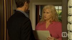 Paul Robinson, Sheila Canning in Neighbours Episode 6698