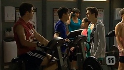 Chris Pappas, Hudson Walsh, Josh Willis in Neighbours Episode 6699