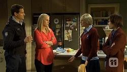 Matt Turner, Lauren Turner, Amber Turner, Bailey Turner in Neighbours Episode 6700