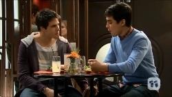 Chris Pappas, Hudson Walsh in Neighbours Episode 6702