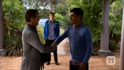 Paul Robinson, Josh Willis, Hudson Walsh in Neighbours Episode 6702