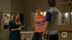 Terese Willis, Josh Willis, Brad Willis in Neighbours Episode 6703