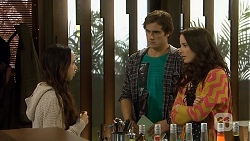 Imogen Willis, Kyle Canning, Kate Ramsay in Neighbours Episode 6703