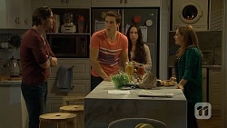 Brad Willis, Josh Willis, Imogen Willis, Terese Willis in Neighbours Episode 6703