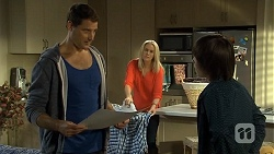 Matt Turner, Lauren Turner, Bailey Turner in Neighbours Episode 6704