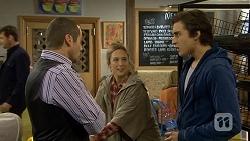 Toadie Rebecchi, Sonya Rebecchi, Mason Turner in Neighbours Episode 6705