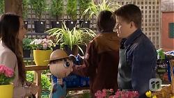 Imogen Willis, Bailey Turner, Callum Rebecchi in Neighbours Episode 6705