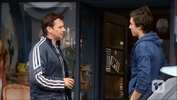 Lucas Fitzgerald, Mason Turner in Neighbours Episode 6706