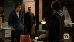 Mason Turner, Harry Austin, Robbo Slade in Neighbours Episode 6706