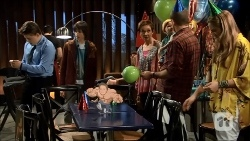 Callum Jones, Bailey Turner, Susan Kennedy, Toadie Rebecchi, Sonya Mitchell in Neighbours Episode 6706