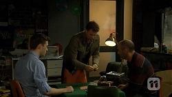 Stu Branson, Lucas Fitzgerald, Graeme Francis in Neighbours Episode 6707