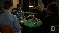 Stu Branson, Lucas Fitzgerald, Graeme Francis, Robbo Slade in Neighbours Episode 6707
