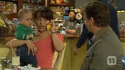 Patrick Villante, Vanessa Villante, Lucas Fitzgerald in Neighbours Episode 6707