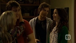 Georgia Brooks, Kyle Canning, Mason Turner, Kate Ramsay in Neighbours Episode 6708