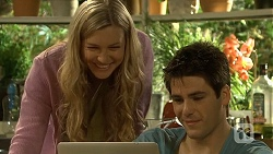 Georgia Brooks, Chris Pappas in Neighbours Episode 6708