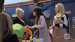 Sheila Canning, Vanessa Villante, Lauren Turner in Neighbours Episode 6709