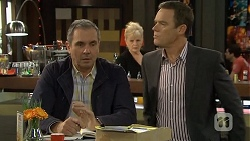 Karl Kennedy, Sheila Canning, Paul Robinson in Neighbours Episode 6709