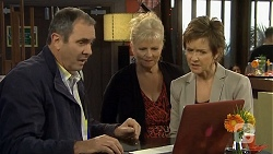 Karl Kennedy, Sheila Canning, Susan Kennedy in Neighbours Episode 6709