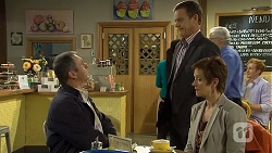 Karl Kennedy, Paul Robinson, Susan Kennedy in Neighbours Episode 6709