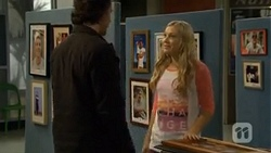 Robbo Slade, Georgia Brooks in Neighbours Episode 6711